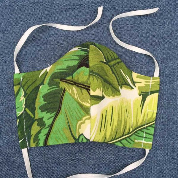 Green Forest Fabric Face Mask for Covid-19